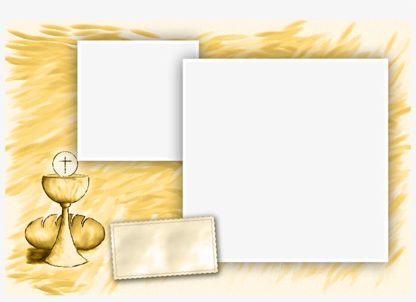 Marcos Para Fotos De Bautizo Y Confirmacion - Png Marcos Para Fotos De Comunion, transparent png #5028217