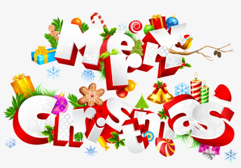 Merry Christmas Png Images Transparent