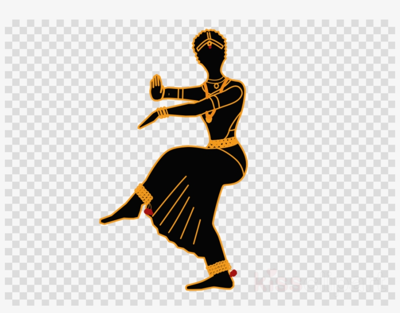 Bharathanatyam Dance Clipart Bharatanatyam Dance Clip - Female Symbol No Background, transparent png #5031363