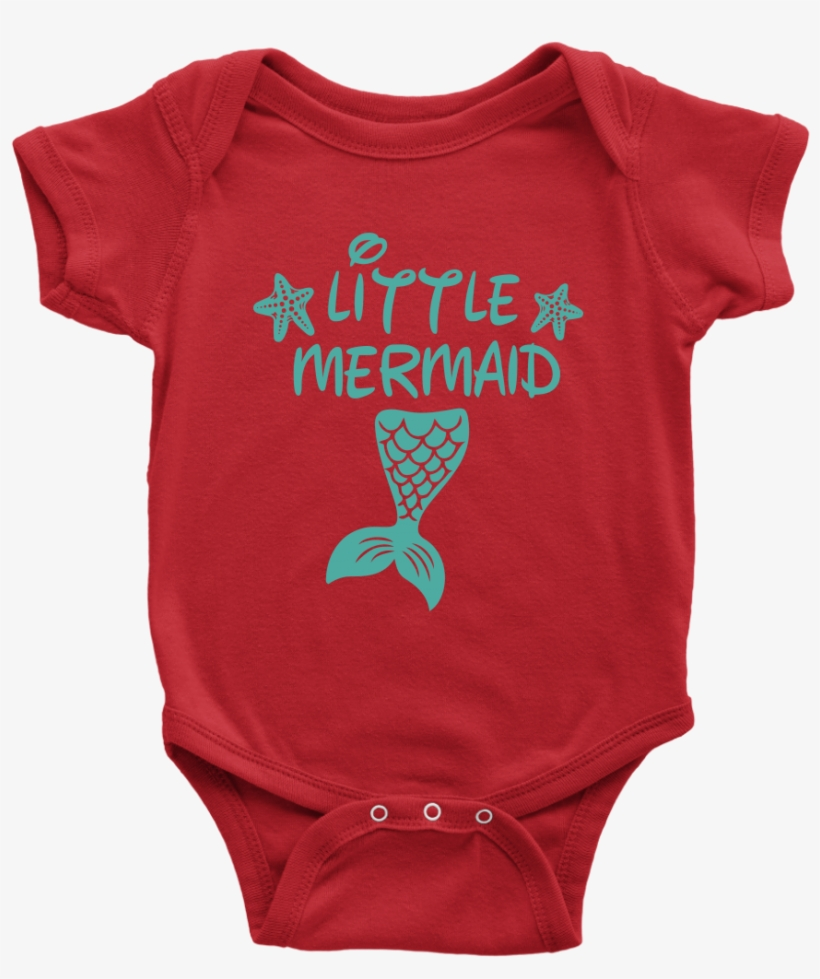 Baby Little Mermaid Png - Christmas Tree Shirt Designs, transparent png #5034335