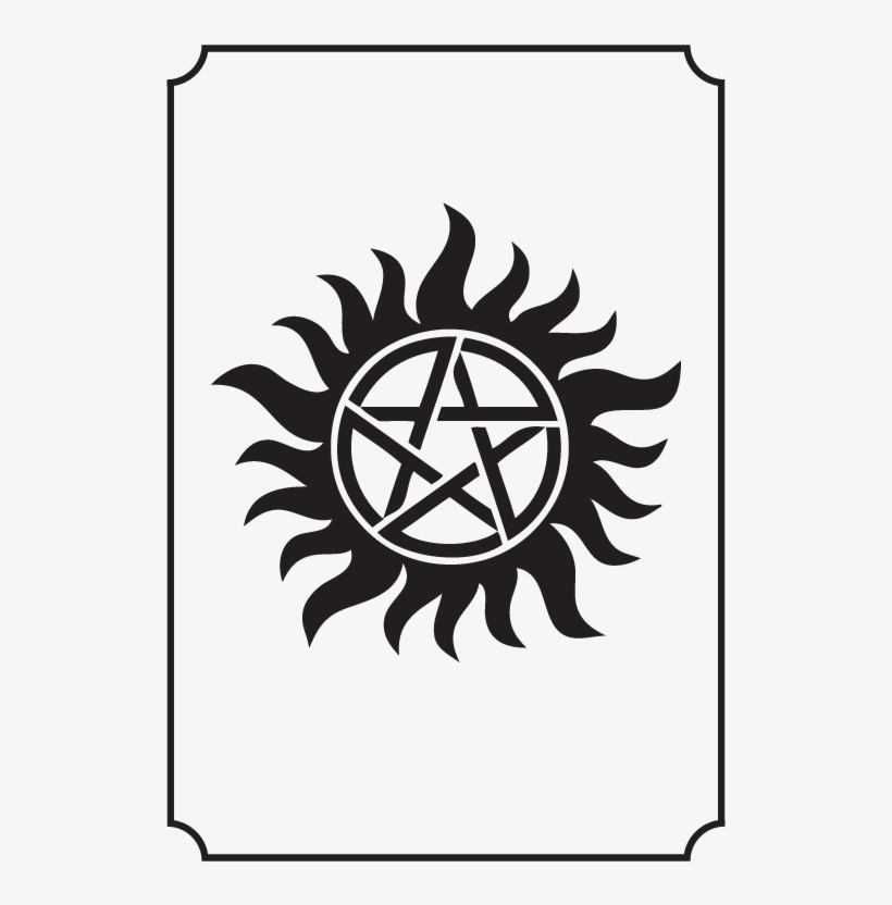 Pentagram Supernatural Anti Possession Symbol Free Transparent Png Download Pngkey