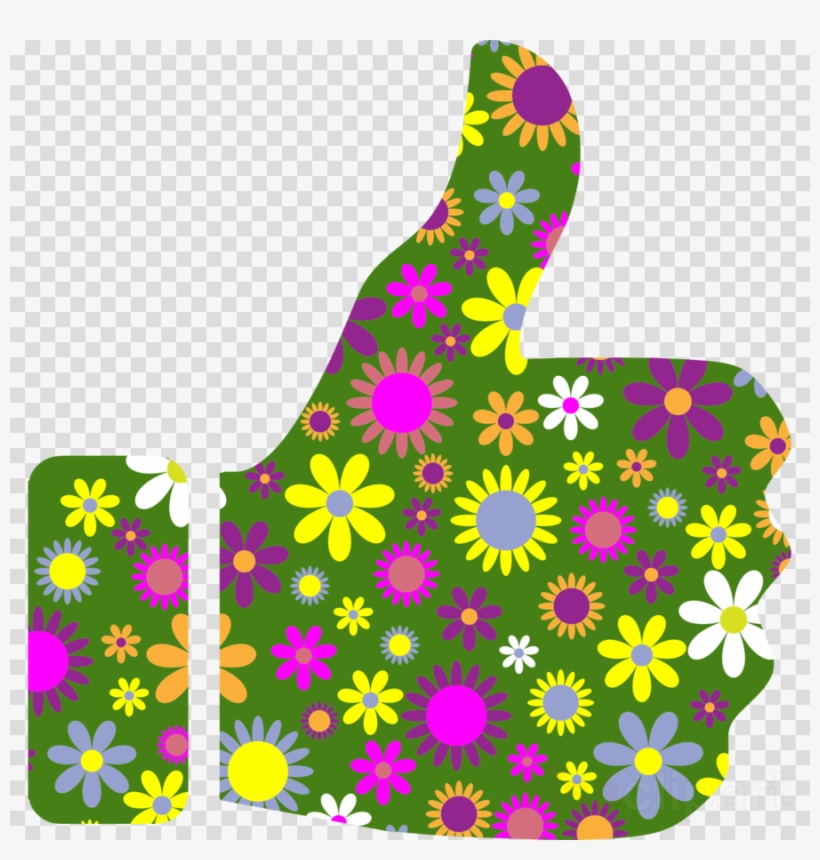 Thumbs up retro PNG Clipart.