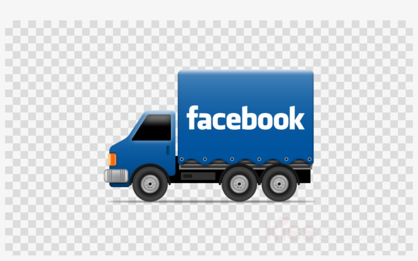 Facebook Truck Clipart Truck Like Button Facebook - Social Media Truck Icon, transparent png #5041004