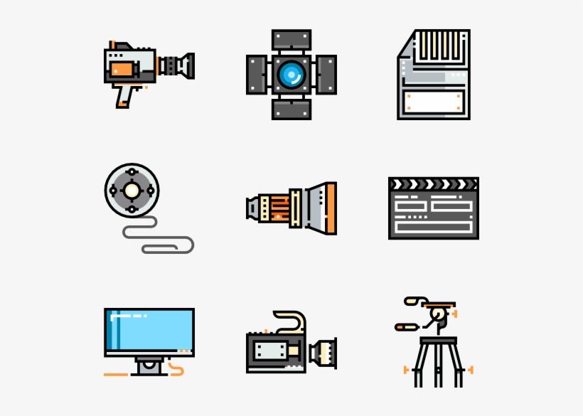 Video & Camera - Video Camera, transparent png #5045511