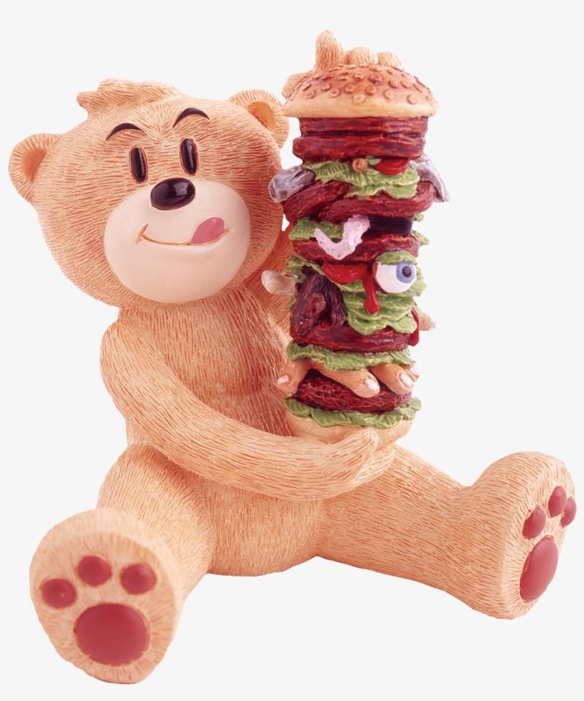 Bad Taste Bears Figurka Stojąca Funny, Mac 4, Teddy - Bad Taste Bears Mac Bad Taste Bear Figurine, transparent png #5053875