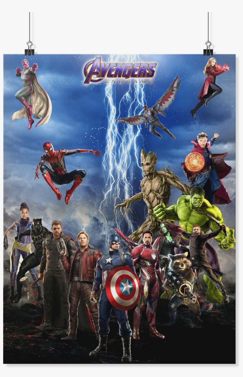 Endgame Marvel Thanos Hulk Ironman Thor Vision Captain - Avengers: Endgame, transparent png #5053952
