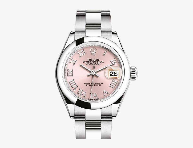Datejust - Slider - Rolex Lady Date Just 28 Mm, transparent png #5055337