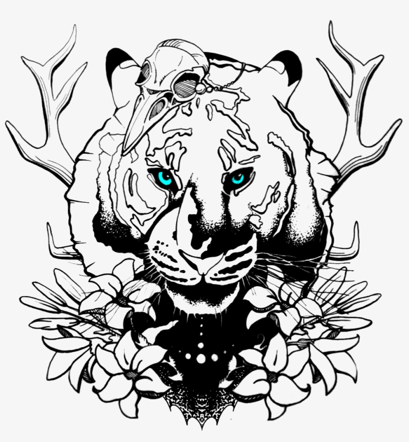 /tg/ - Traditional Games - Lion Drawing Tattoo, transparent png #5061138