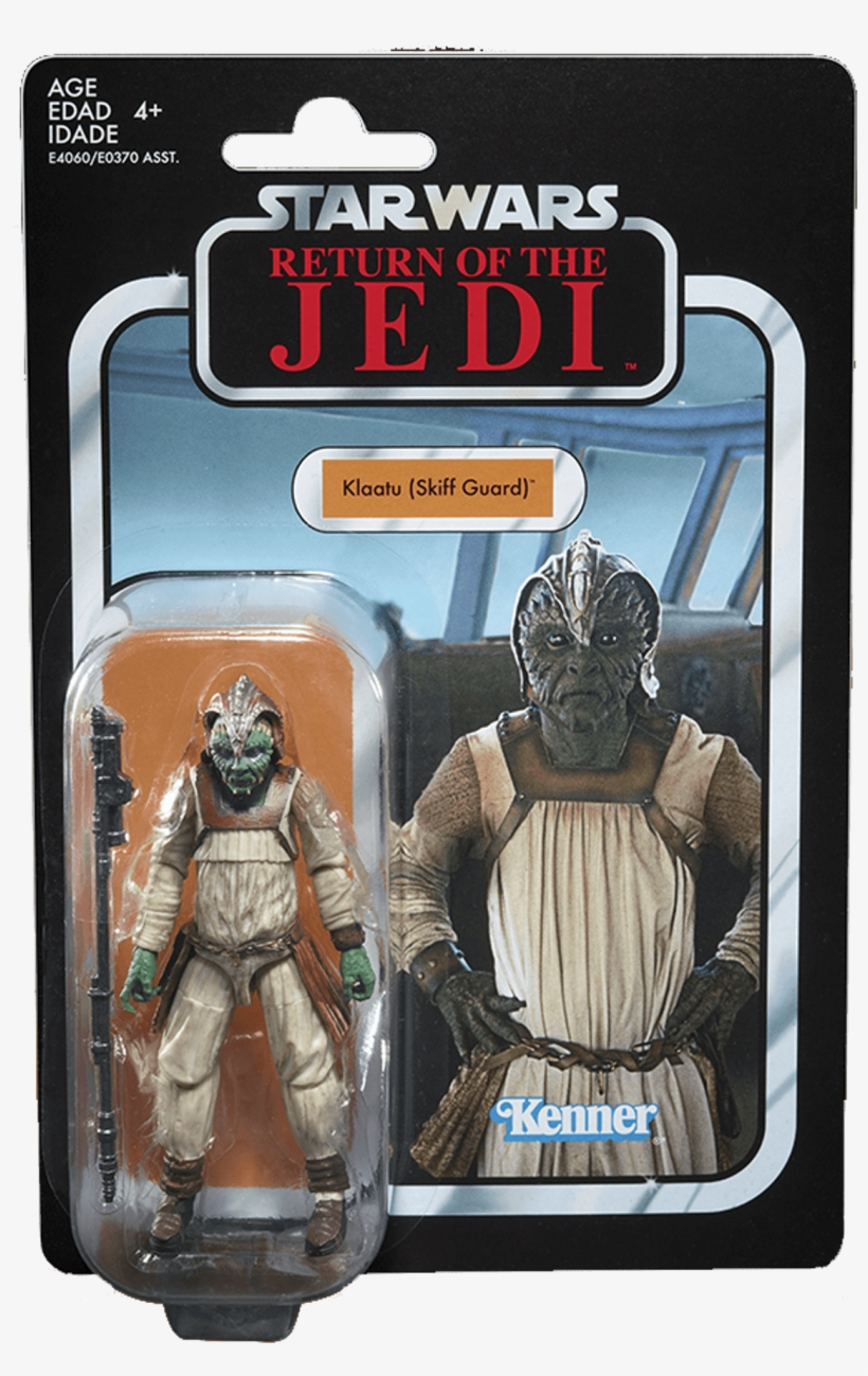 #135 Klaatu [skiff Guard] - Star Wars Vintage Collection 2018, transparent png #5066051