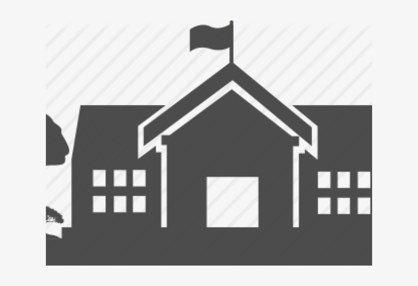School Vector Icon Png, transparent png #5068116