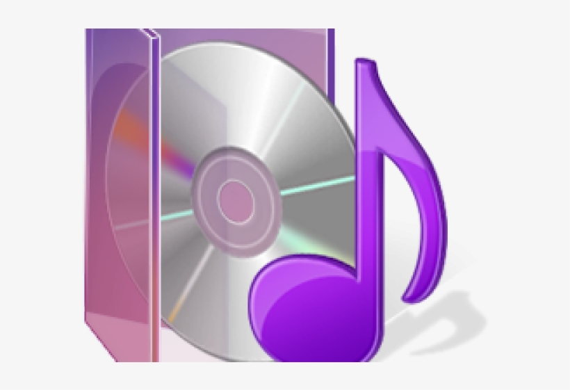 Folder Icons Purple - Music, transparent png #5070937