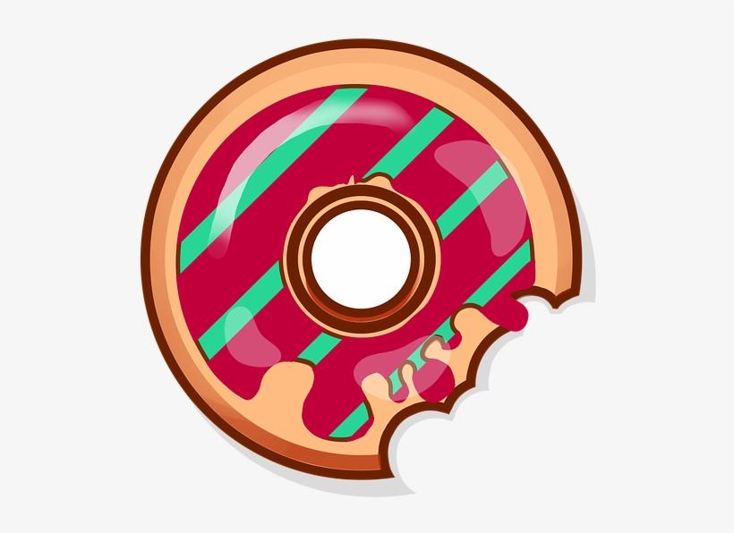 Donut Sweets Baking Food Tasty Bun Yummy Icon Niedliches