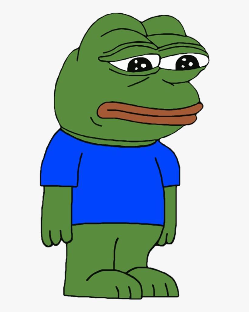 167kib, 560x943, Animated Sad Frog - Pepe The Frog Cock, transparent png #5075350