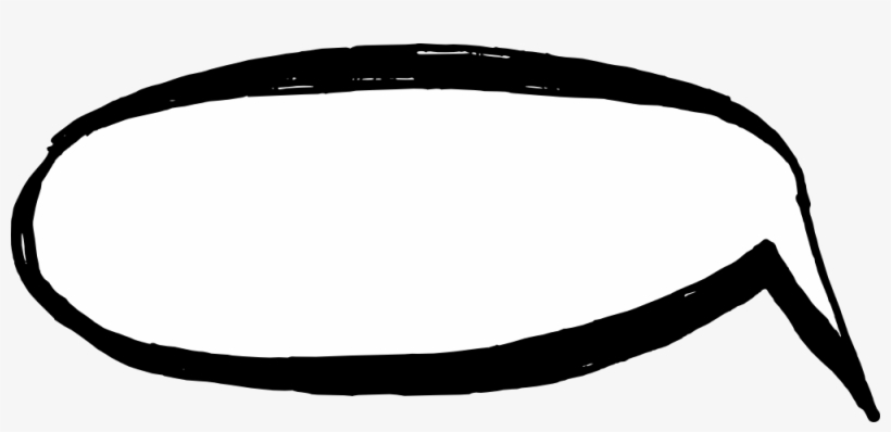 50 Hand Drawn Comic Speech Bubbles Vector - Headband, transparent png #5077042