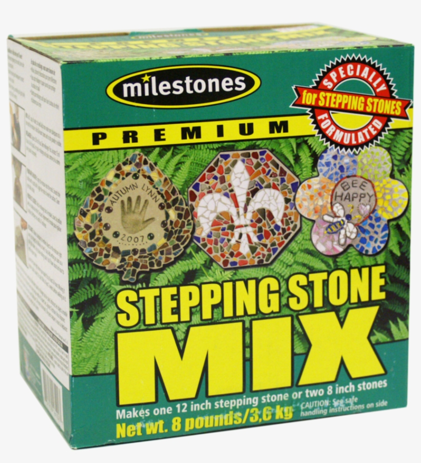Pour The Cement In Until Level With The Top Of The - Midwest Products Stepping Stone Mix 8lb Box -, transparent png #5086068