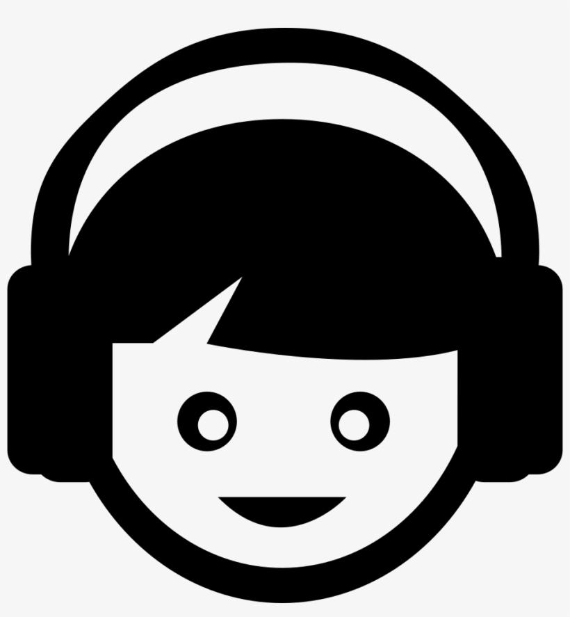 Png File Svg - Listening Music Vector Png, transparent png #5087667