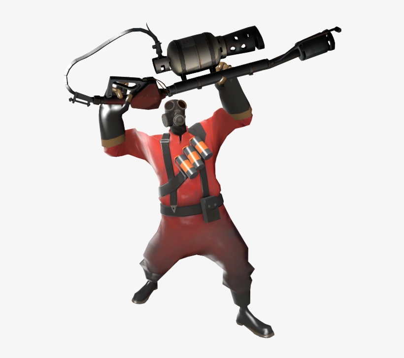 Pyro - Pyro Taunt - Free Transparent PNG Download - PNGkey