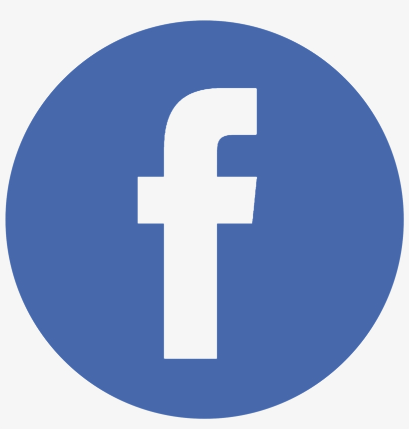 Facebook Twitter Instagram Pinterest - Facebook Logo In Circle Without Background, transparent png #5094426