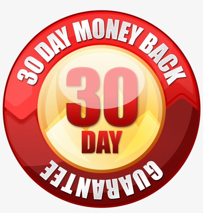30 Day Money Back Guarantee Photos - 30 Day Money Back Guarantee Seal, transparent png #510288