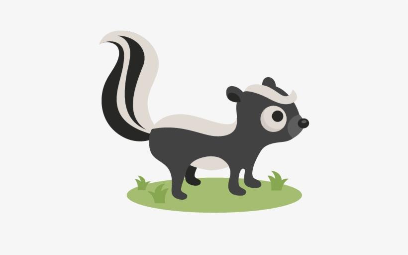Skunk Svg Scrapbook Cut File Cute Clipart Files For - Squirrel And Skunk Clipart, transparent png #511096