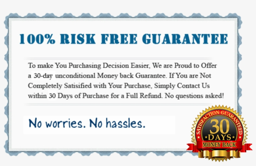 30 Day Money Back - 30 Day Money Back Guarantee Png, transparent png #512045