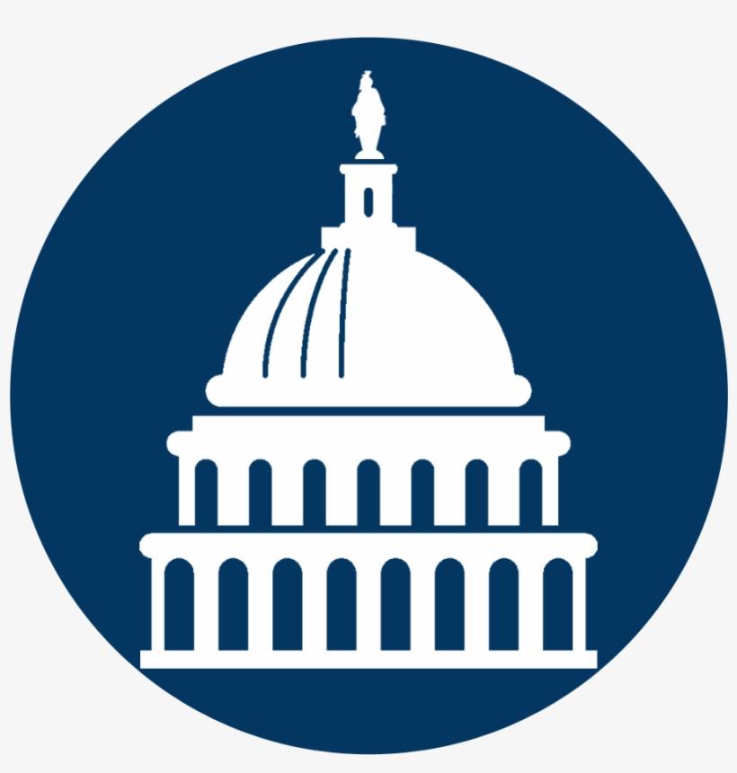 Washington Dc Icons - Million Women's March On Washington 2017 Blue Tote, transparent png #512860