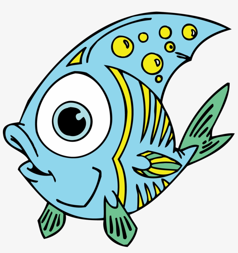 Fish Clip Art For Kids Ninjazac Gaming - Funny Fish Clip Art, transparent png #513439