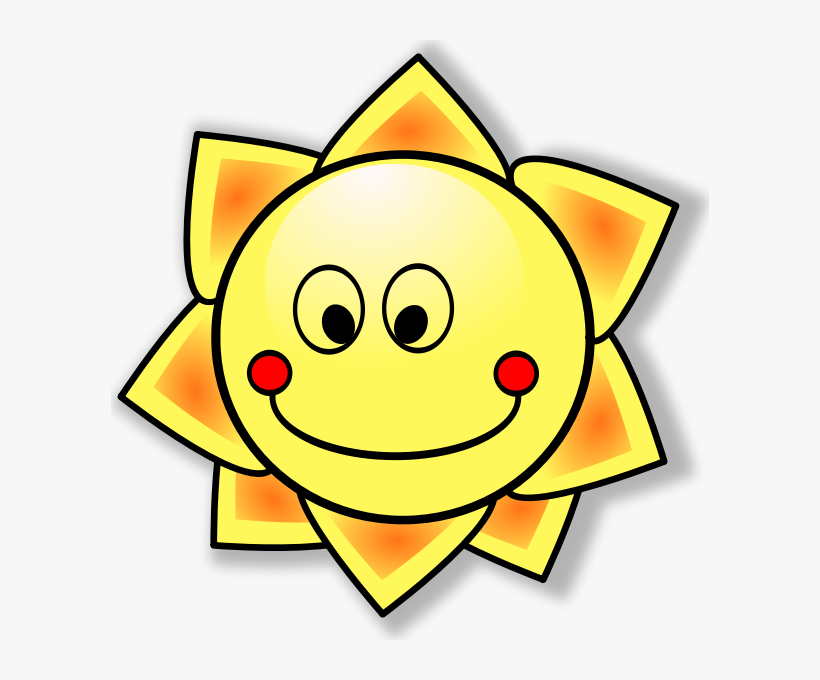 How To Set Use Smiling Sun Svg Vector - Free Transparent PNG