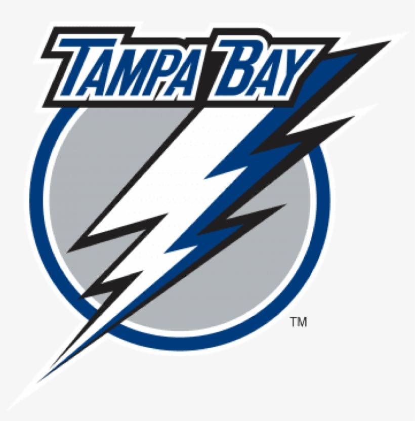Tampa Bay Lightning Logo, 2007-2011 - Tampa Bay Lightning Wall Decal, transparent png #514128