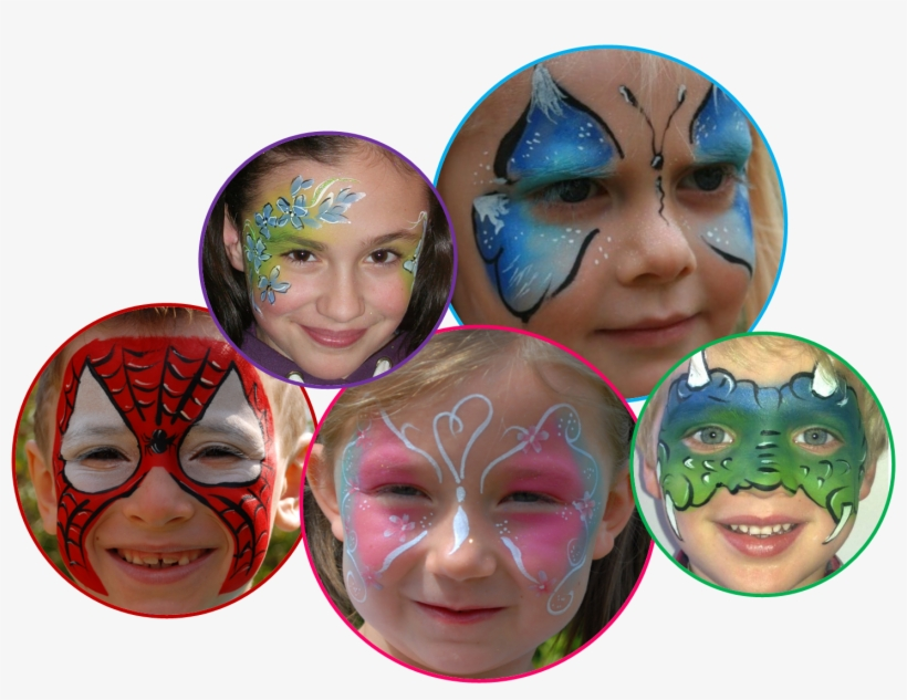 Face Painting Free Png Image - Face Paint Png, transparent png #516299