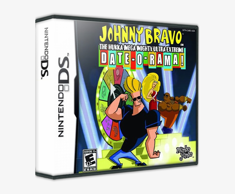 Johnny Bravo In The Hukka Mega Mighty Ultra Extreme - Johnny Bravo Date O Rama Ps2, transparent png #516560