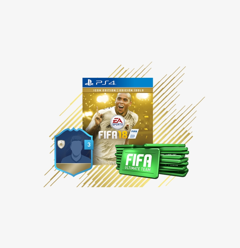 Fifa 18 Icon Edition - Fifa 18 Icon Edition (xbox One) - Digital Download, transparent png #516922
