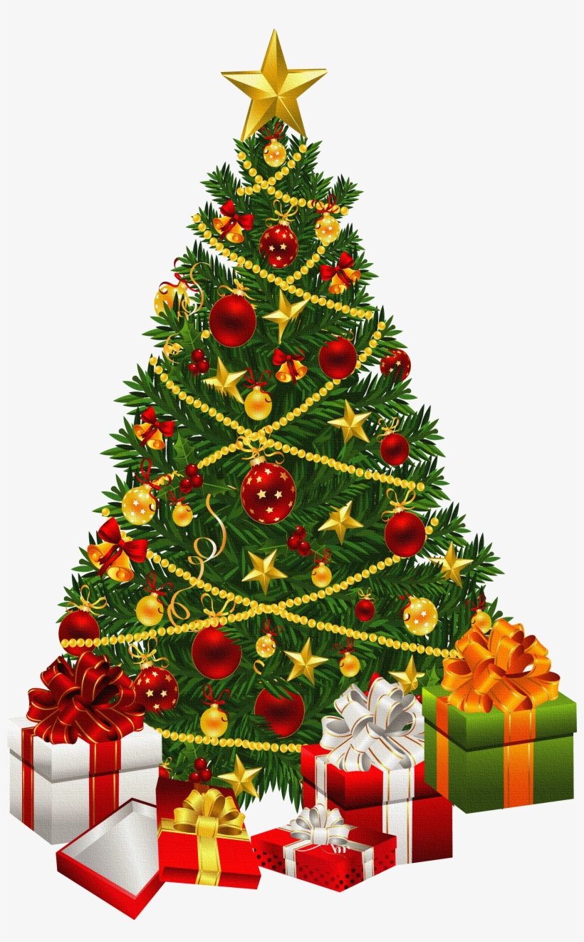 Explore Xmas, Clipart, And More - Christmas Tree Greeting Card, transparent png #517631