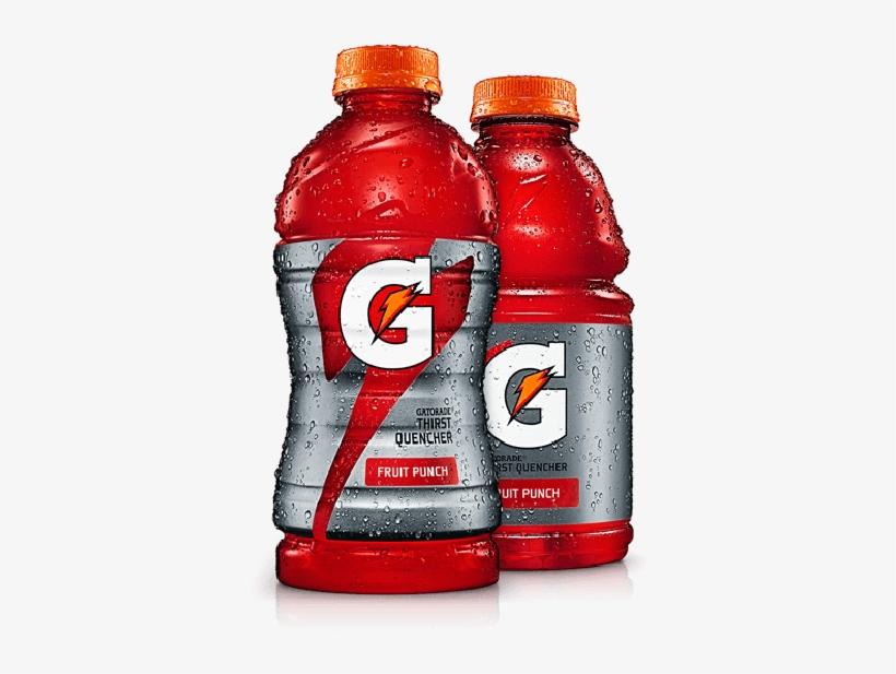 Gatorade Transparent Graphic Free Stock - Gatorade 32 Oz Fruit Punch, transparent png #519987
