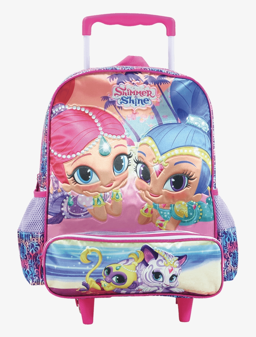 Mala Com Rodas 14 Shimmer & Shine Double Trouble - Shimmer And Shine, transparent png #5101721