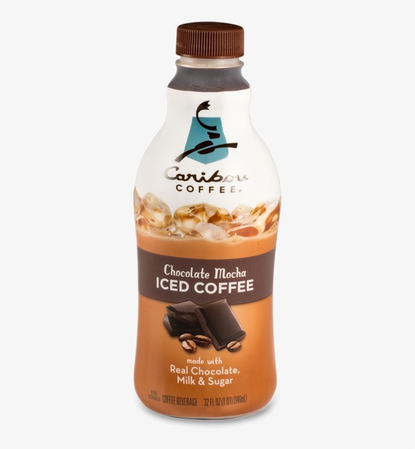 Caribou Chocolate Mocha Iced Coffee - Caribou Mocha Iced Coffee, transparent png #5102459