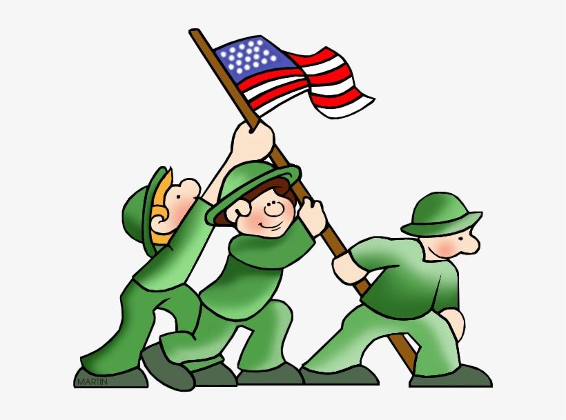 Free Military Clip Art By Phillip Martin, World War - World War 2 Clip Art, transparent png #5106612