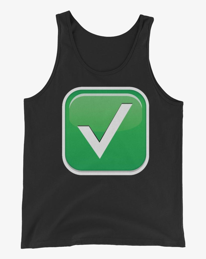 Men's Emoji Tank Top - Top, transparent png #5109457