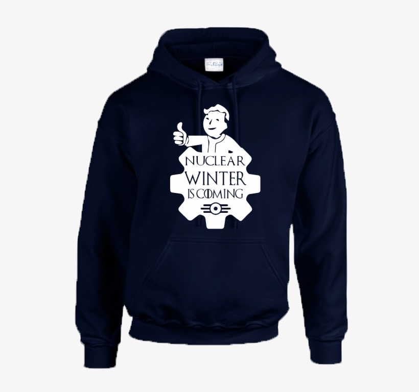 Nuclear Winter Hoodie Inspired By Fallout Vault Tec - Nirvana Hoodie   Grunge Rock Design   Mens Black X-large, transparent png #5123791