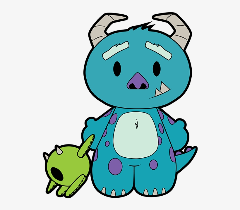 Hello Monster By Patrick Hayes On Unamee - Monsters, Inc., transparent png #5129383