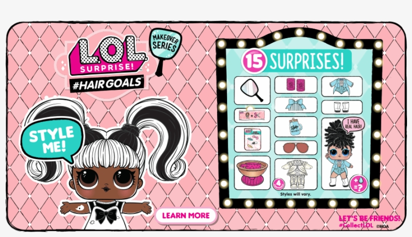 Skip To Content - Set Of 2 Lol Surprise Dolls Series 1 Mga Entertainment, transparent png #5133027