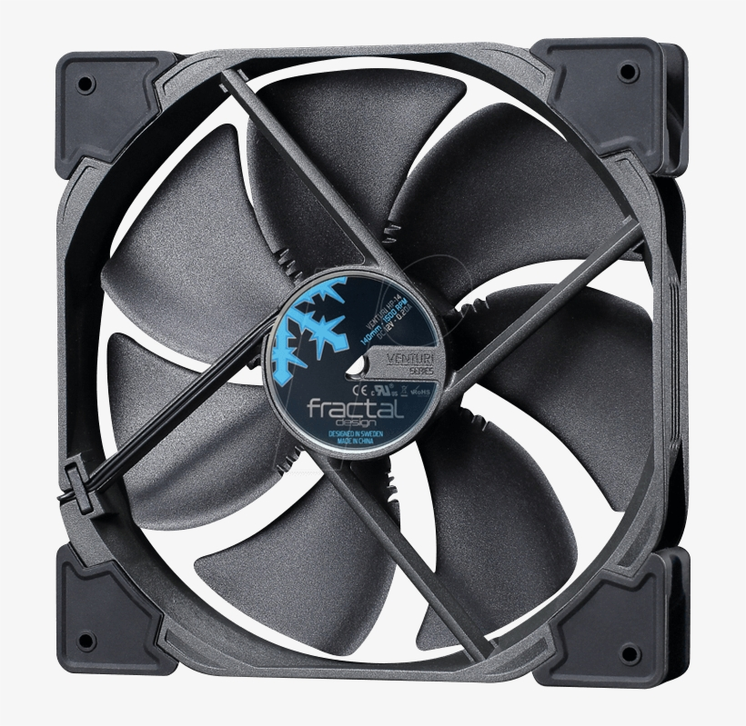Fractal Design Case Fan Venturi Hp 14 Pwm, 140mm Fractal - Fractal Design Venturi Fans, transparent png #5137067