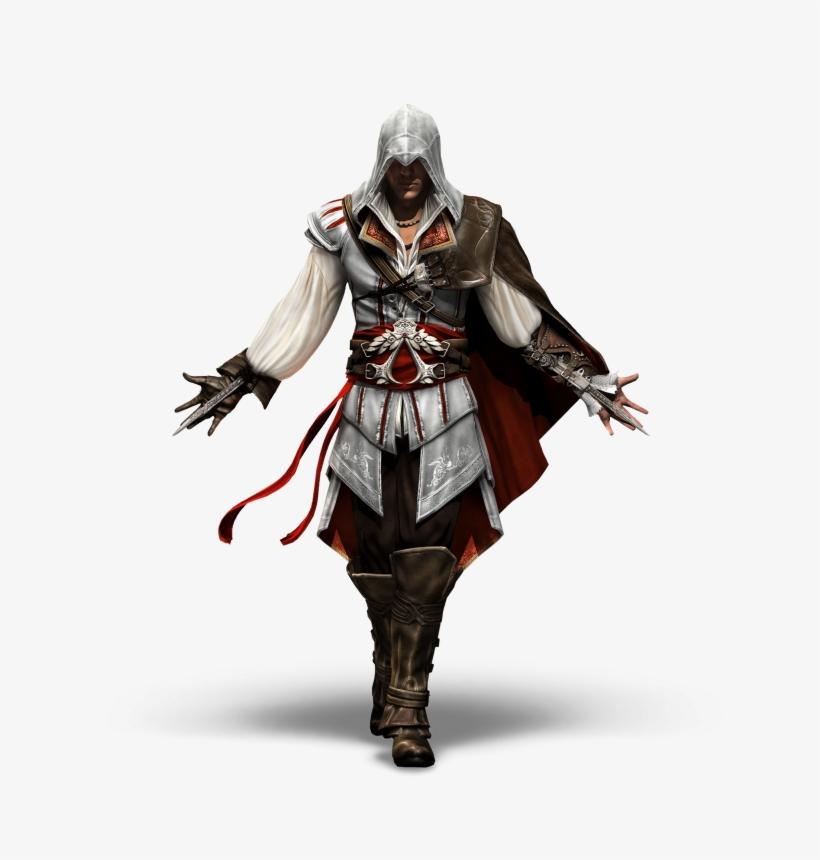 Disfruta De Los 20 Renders Del Juego Assassin's Creed - Assassin's Creed Ezio Hd, transparent png #5137235