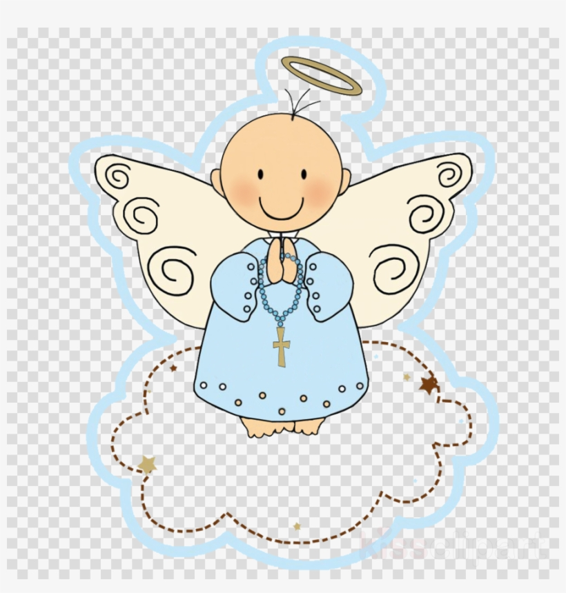 Angelitos Para Bautizo Clipart Baptism Angel First Angeles Para