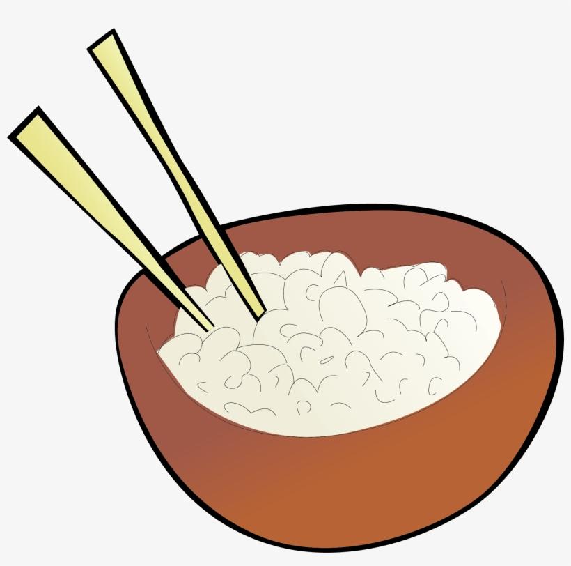 Fried Rice Cazuela Chinese Cuisine Clip Art - Rice Bowl Transparent, transparent png #5146402