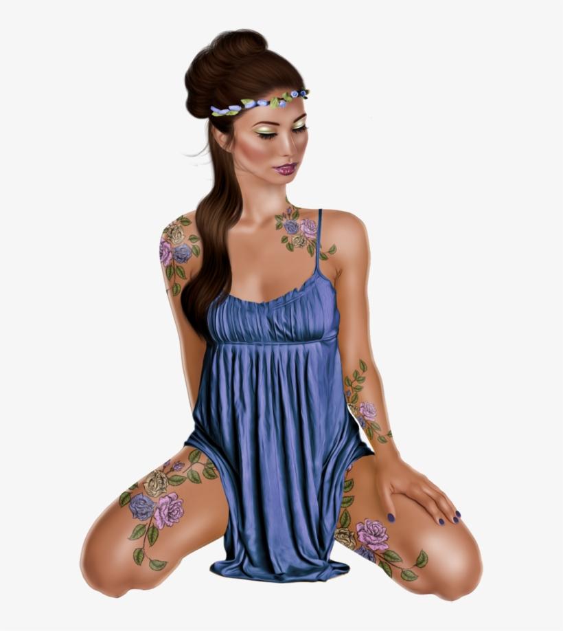 Tubes Femmes 3d - Girl, transparent png #5149525