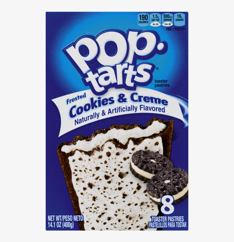 Home - Pop Tarts Cookies N Cream, transparent png #5165412