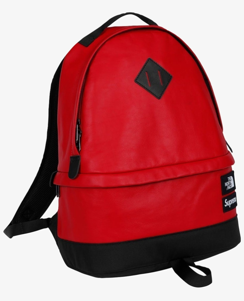 d2fd5b770 Supreme X North Face Leather Backpack - Free Transparent PNG ...
