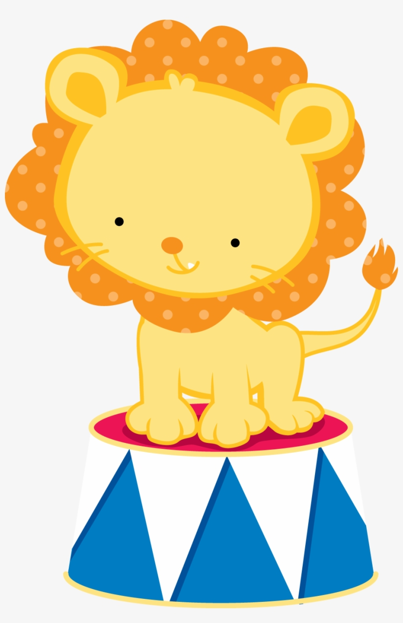 Circo Cute Png - Animales De Circo Dibujos, transparent png #5172211