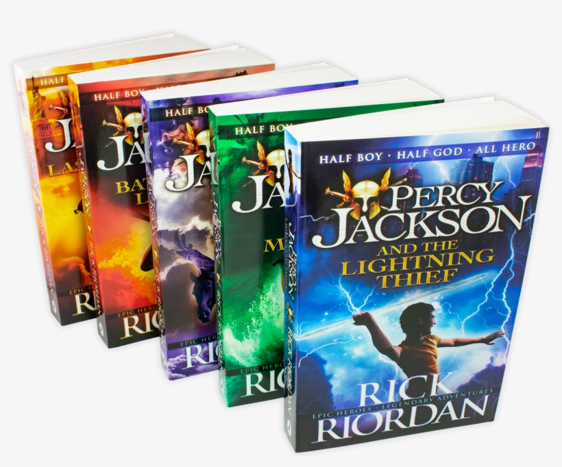 Percy Jackson 5 Book Ultimate Collection - Percy Jackson And The Lightning Thief (book 1) Ebook, transparent png #5173541